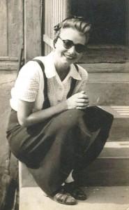 Szeleczky Zita az 1940-es évek elején egy nyári vakáción